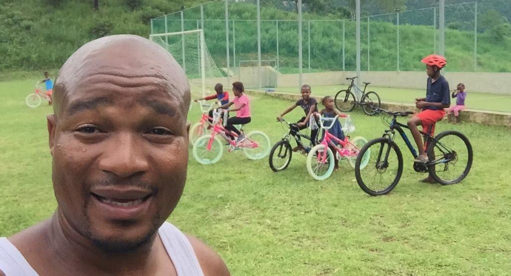 Cycling at Ingane Yami